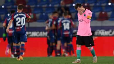 فيديو | شاهد اهداف مباراة برشلونة وليفانتي في الدوري الاسباني «ليون يُصعق ميسي»