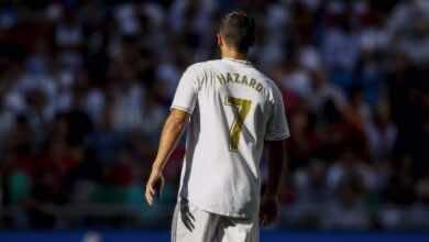 هازارد يعتذر لجمهور ريال مدريد بعد اللقطة المستفزة