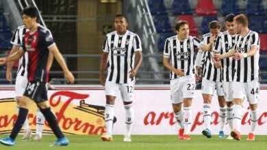 الدوري الايطالي   يوفنتوس يستغل تعثر نابولي، ويتأهل إلى دوري أبطال أوروبا بفوزه على بولونيا
