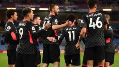 الدوري الانجليزي   ليفربول يصفع ليستر ويداعب حلم الأبطال بالفوز على بيرنلي