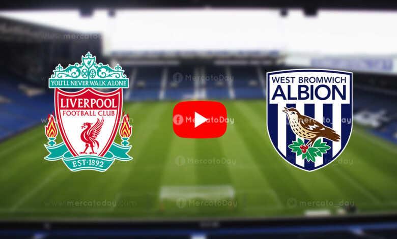 بث مباشر   شاهد ليفربول ووست بروميتش ألبيون في الدوري الإنجليزي «يلا شوت»