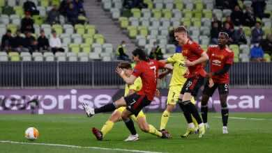 فيديو | شاهد هدف التعادل لفريق مانشستر يونايتد أمام فياريال في نهائي الدوري الأوروبي