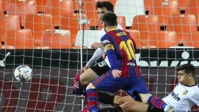 بالصور | ملخص مباراة برشلونة اليوم أمام فالنسيا 3-2 في الليجا