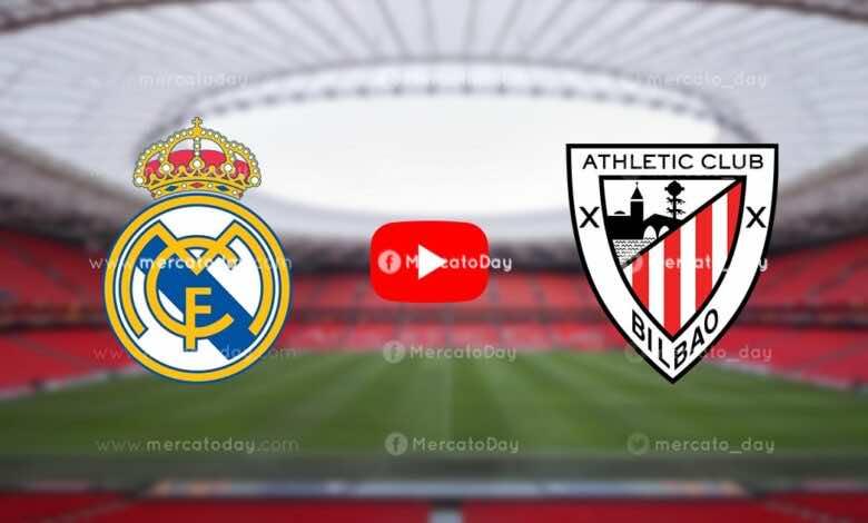 بث مباشر   شاهد ريال مدريد واتلتيك بيلباو في الدوري الإسباني «يلا شوت»