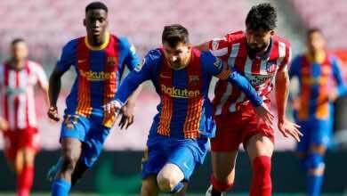 نتيجة مباراة برشلونة واتلتيكو مدريد في الدوري الاسباني «هذا ما أراده ريال مدريد»