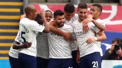 الدوري الانجليزي | نتيجة مباراة مانشستر سيتي وكريستال بالاس «التتويج يقترب»