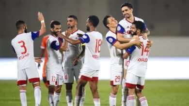 نتيجة مباراة الشارقة وعجمان في الدوري الاماراتي «الملك يحفظ مركزه»