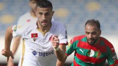الوداد يهزم مولودية الجزائر في ربع نهائي دوري أبطال افريقيا 2021
