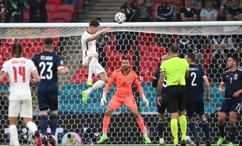 يورو 2020 | اسكتلندا تُجبر انجلترا على التعادل في ويمبلي..وترفع شعار عودة القلوب الشجاعة