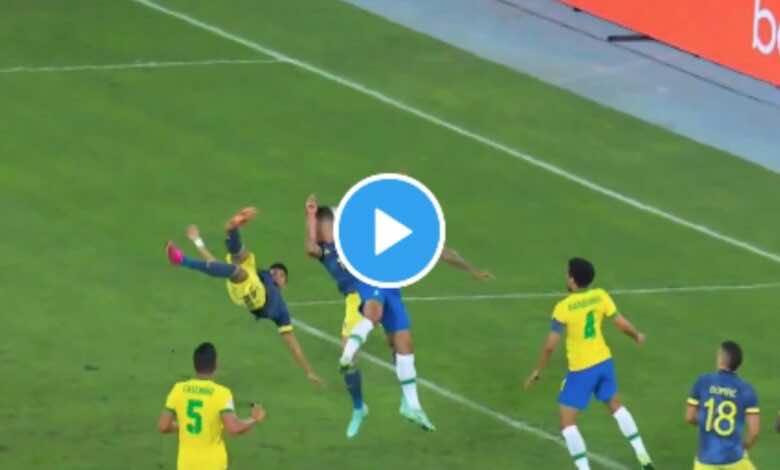 شاهد فيديو اهداف مباراة البرازيل وكولومبيا في كوبا امريكا 2021..مقصية عالمية تفجع السامبا