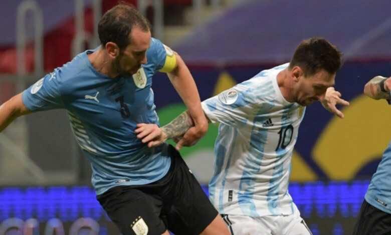 فيديو   اهداف مباراة الارجنتين واورجواي في كوبا امريكا 2021..ميسي يقتل موسليرا بعرضية