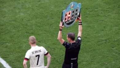 نجم مباريات اليوم السابع في يورو 2020 | مُنقذ البلجيك من تهمة التعاطف السلبي! دي بروينه