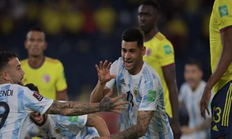 فيديو: مشاهدة الهدف الاول للارجنتين على كولومبيا بتوقيع كريستيان روميرو