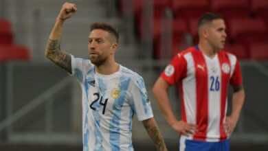 نتيجة مباراة الارجنتين وباراجواي في كوبا امريكا 2021..راقصو التانجو يخطفون الصدارة