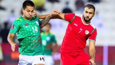 خالد الهاجري يقود سلطنة عمان لهزيمة بنجلادش في تصفيات كأس العالم 2022