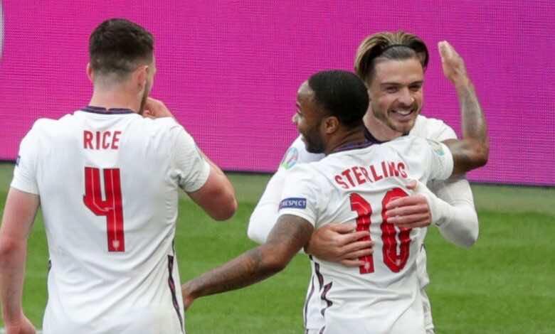 شاهد فيديو اهداف مباراة انجلترا والتشيك في يورو 2020..جريليش يُحيي الهجوم الإنجليزي