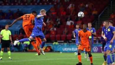 نجم مباريات اليوم الثالث من يورو 2020 | دينزل ديمفريس طاحونة هولندا الهوائية