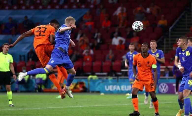 نجم مباريات اليوم الثالث من يورو 2020   دينزل ديمفريس طاحونة هولندا الهوائية