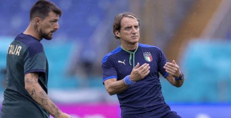 روبرتو مانشيني مدرب منتخب ايطاليا في يورو 2020 - صور Getty