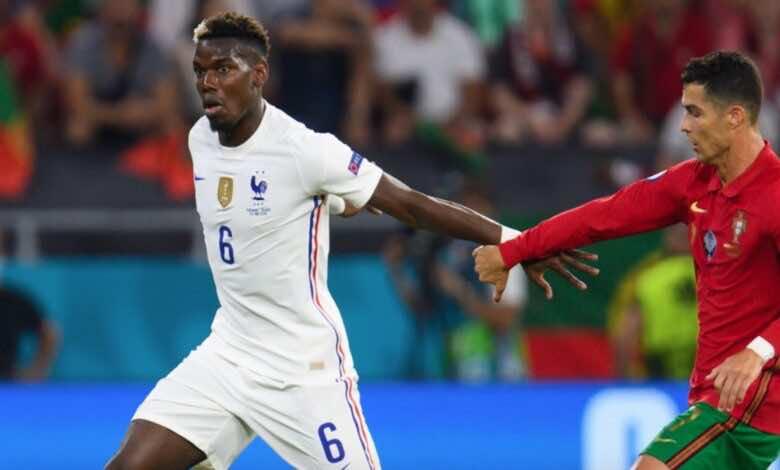 يورو 2020   اسطورة مانشستر يونايتد يشكك في استمرارية بوجبا مع فرنسا