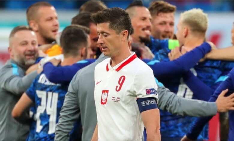 يورو 2020   ماذا قدم ليفاندوفسكي في مباراة بولندا وسلوفاكيا؟