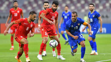 نتيجة مباراة البحرين والكويت في كأس العرب 2021.. الأحمر آخر المتأهلين