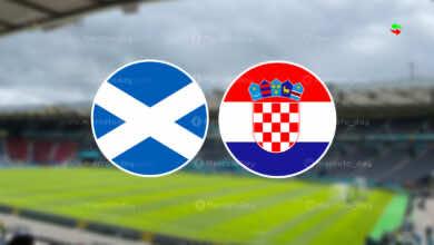 موعد مباراة كرواتيا واسكتلندا في بطولة يورو 2020 والقنوات الناقلة