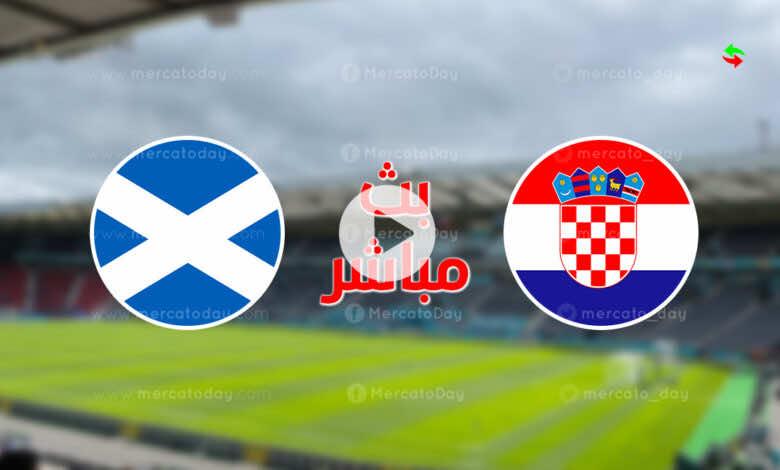 مشاهدة مباراة كرواتيا واسكتلندا في بث مباشر ببطولة يورو 2020