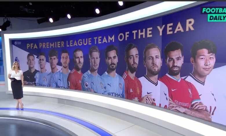 مانشستر سيتي يُسيطر على التشكيل المثالي للموسم في الدوري الانجليزي