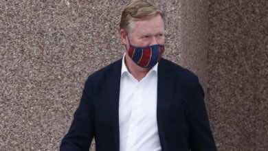 برشلونة يتراجع عن إقالة رونالد كومان