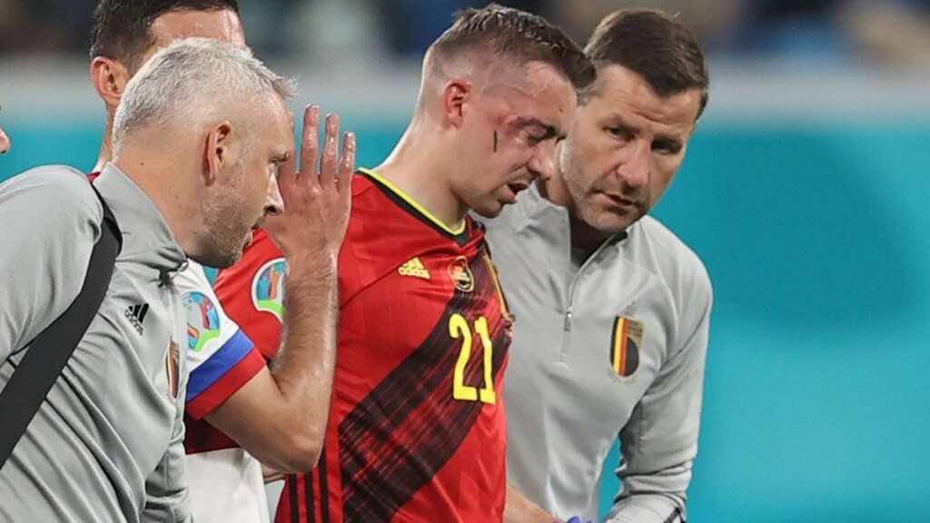 يورو 2020 | انتهاء مشوار كاستاني مع بلجيكا بعد كسر مزدوج