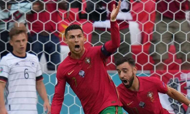 يورو 2020.. رونالدو يكسر شوكة أساطير الألمان رغم السقوط المدوي في أمم أوروبا
