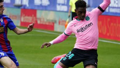 صفقات برشلونة   شرط وحيد يُعيق انتقال لاعب البرسا إلى ميلان