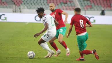 رغم الظهور الباهت.. المغرب تنتصر على غانا في تحضيرات تصفيات كأس العالم 2022