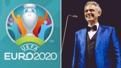 """شاهد فيديو حفل افتتاح يورو 2020 بحضور الفنان العالمي """"أندريا بوتشيلي"""""""