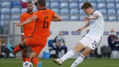 فيديو اهداف مباراة هولندا واسكتلندا فى تحضيرات يورو 2020 (صور:AFP)