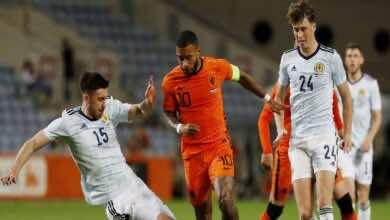 ديباي يُنقذ هولندا من الخسارة أمام أسكتلندا في تحضيرات يورو 2020 (صور:AFP)