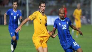 موعد مباراة الكويت وأستراليا في تصفيات كأس العالم 2022 والقنوات الناقلة (صور:AFP)