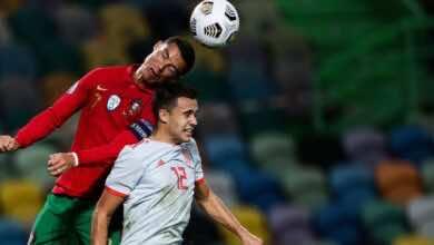 موعد مباراة اسبانيا والبرتغال فى تحضيرات يورو 2020 والقنوات الناقلة (صور:AFP)