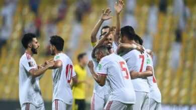 شاهد فيديو اهداف مباراة الامارات وماليزيا فى تصفيات كأس العالم 2022 (صور:twitter)