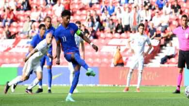 فيديو مشاهدة اهداف مباراة انجلترا ورومانيا فى تحضيرات يورو 2020 (صور:AFP)