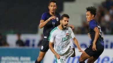 موعد مباراة العراق وكمبوديا في تصفيات كأس العالم والقنوات الناقلة (الجولة التاسعة) (صور:Google)