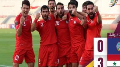 المنتخب السوري يهزم غوام ويصل للنقطة 21 في تصفيات كأس العالم 2022 (صور:twitter)