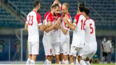 المنتخب الاردني يُمطر شباك نيبال ويخطف مركز الكويت في تصفيات كأس العالم 2022 (صور:twitter)