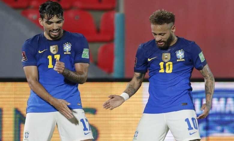 جدول ترتيب مجموعة أمريكا الجنوبية في تصفيات كأس العالم 2022 بعد فوز البرازيل وتعادل الارجنتين (صور:AFP)