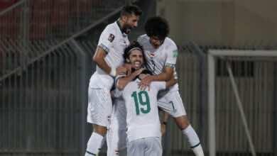 العراق يُجرد إيران من صدارة تصفيات كأس العالم 2022 بهدف يتيم في هونج كونج (صور:AFP)