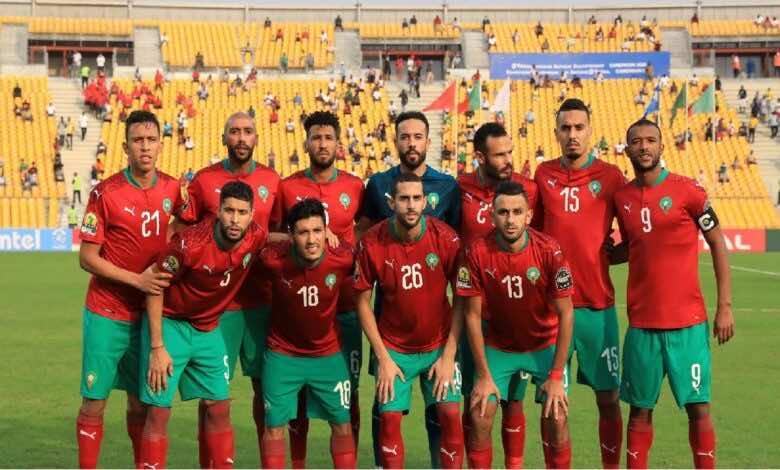 مشاهدة مباراة المغرب وبوركينا فاسو فى بث مباشر بتحضيرات تصفيات كأس العالم 2022 (صور:AFP)