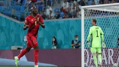 شاهد فيديو اهداف مباراة بلجيكا وروسيا فى يورو 2020 (صور:twitter)