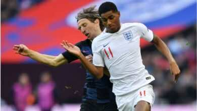 موعد مباراة انجلترا وكرواتيا فى يورو 2020 والقنوات الناقلة (صور:AFP)