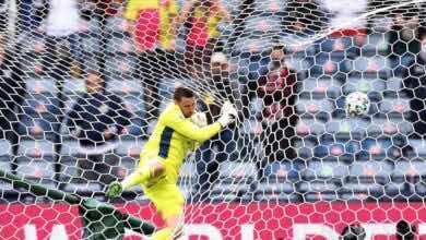 شاهد فيديو اهداف مباراة اسكتلندا والتشيك فى يورو 2020 (صور:AFP)
